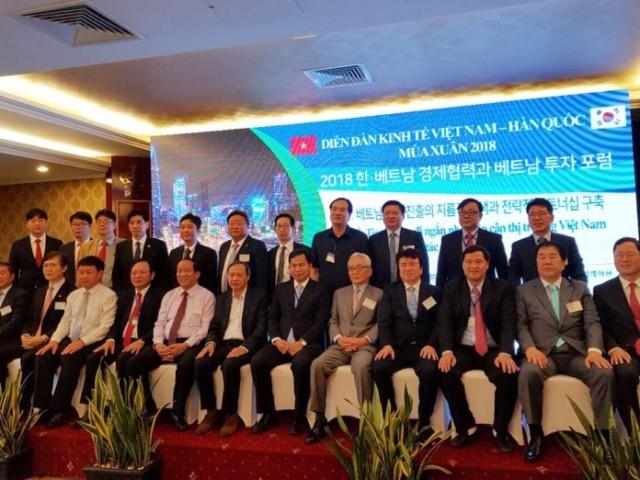 Hàn Quốc là đối tác đầu tư trực tiếp nước ngoài lớn nhất của Việt Nam