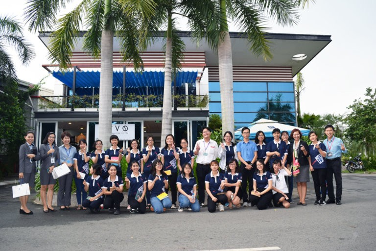 Interesting experiences of USSH Students at Kizuna Serviced Factory