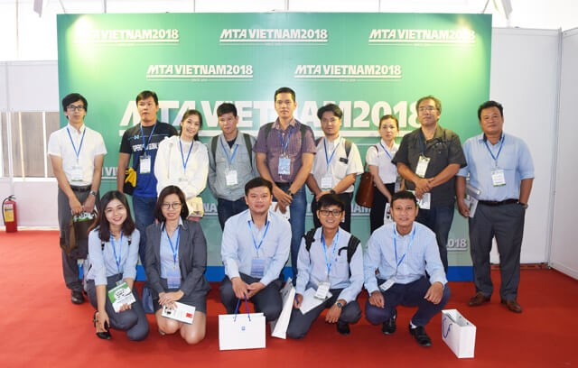 KIZUNA's business group attended the MTA Vietnam 2018