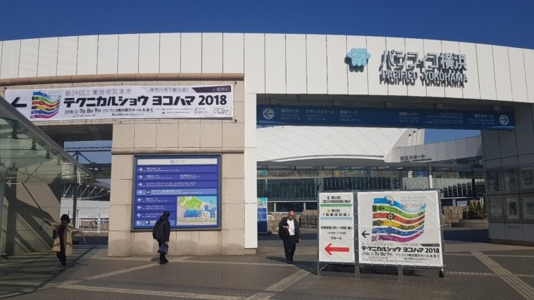 Kizuna tham dự triển lãm Yokohama Techinical Show tại Nhật Bản