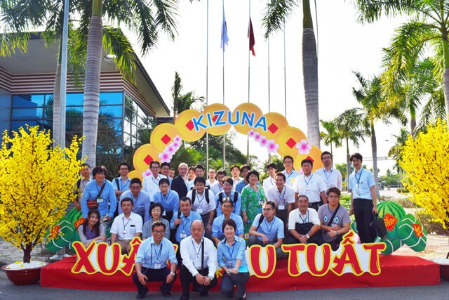Jetro Inspection Group visited Kizuna Rental Serviced Factory