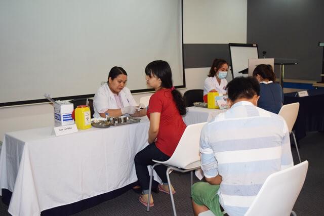 Kizuna 서비스 공단 근로자들을 위한 2018년 정기 건강 검진