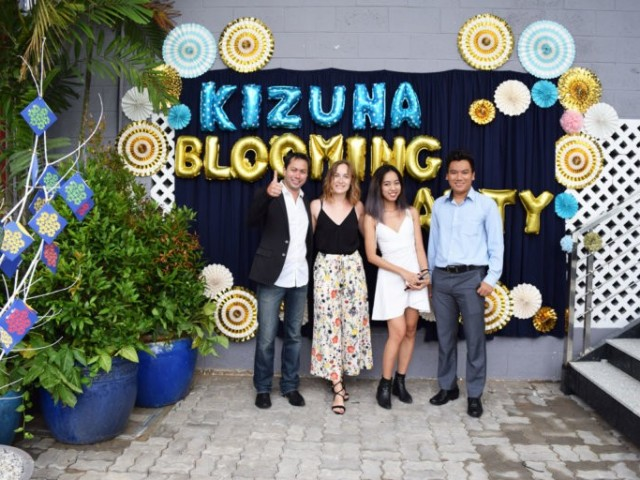 Kizuna Blooming Party 2018 – Appreciation and connection of employees and businesses in the KIZUNA community