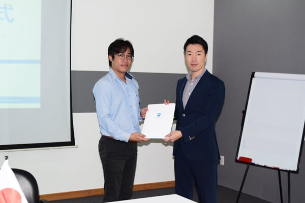1st Tenant of Kizuna 3 – Yumoto Vietnam's Workshop Lease Contract Signing Ceremony