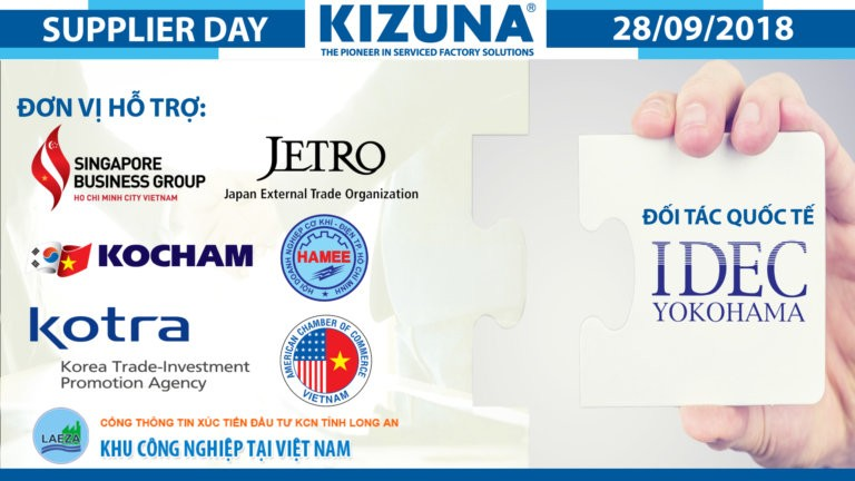 Kizuna Supplier Day 2018 với sự đồng hành của 8 Hiệp hội thương mại trong và ngoài nước
