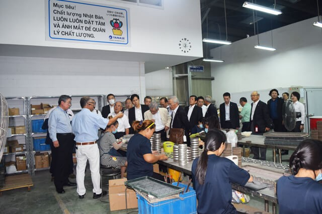 Inspection Group from Ehime CCI visited Kizuna Rental Serviced Factory