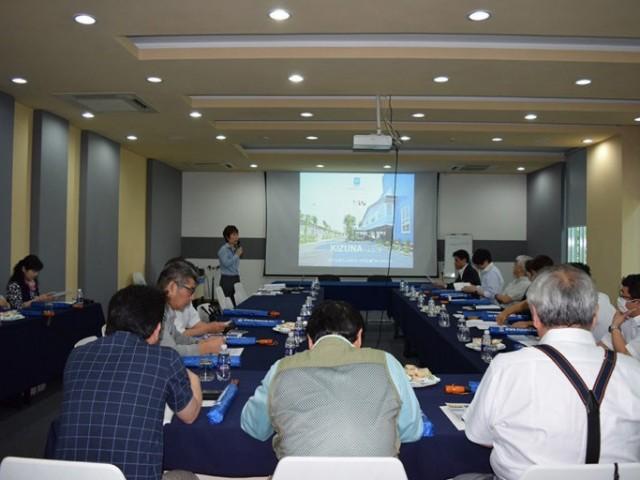 Ngân hàng Tama Shinkin đến tham quan Khu Nhà Xưởng Dịch Vụ Cho Thuê Kizuna