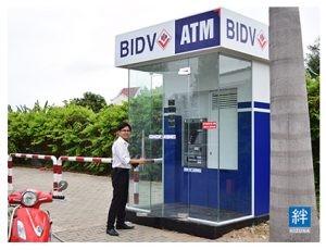 BIDV lắp đặt trụ ATM tại Khu nhà xưởng dịch vụ KIZUNA