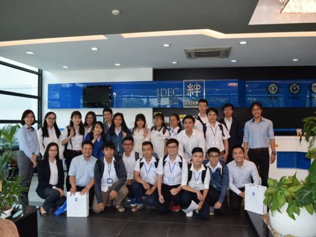 Một ngày trải nghiệm của sinh viên Đại Học Bách Khoa tại Khu Nhà Xưởng Dịch Vụ Kizuna
