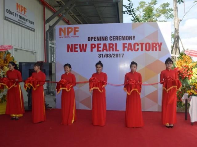키즈나 2 서비스 공단 내NEW PEARL FACTORY (NPF) 오프닝 세리모니