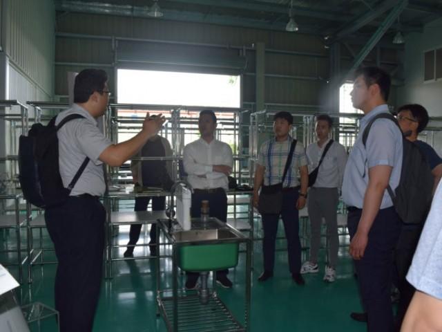 (사)한국 장수기업 협회(KOSEA)의 KIZUNA 서비스 임대 공단 방문
