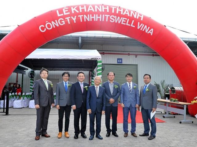 Lễ khánh thành Công ty TNHH Itswell Vina tại Khu Nhà Xưởng Dịch Vụ Cho Thuê Kizuna 2