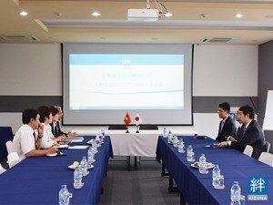 [Kizuna] Lễ kí kết hợp đồng công ty Naniwa
