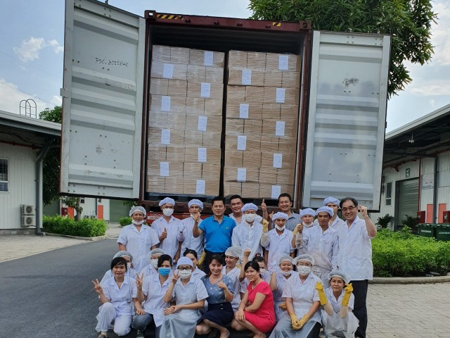 Farm Story exported their first batch of goods only 4 months after starting their operation at KIZUNA