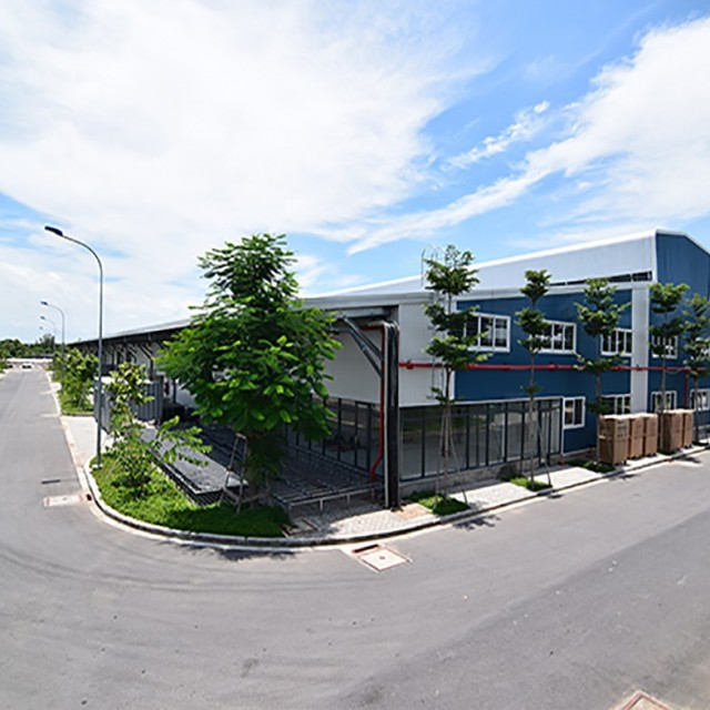 Factory in Vietnam design standard for manufacturing company