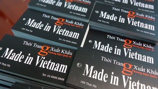 What is called Vietnamese goods?