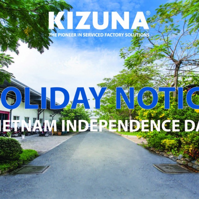 [HOLIDAY NOTICE] NATIONAL DAY SEPTEMBER 2nd, 2019