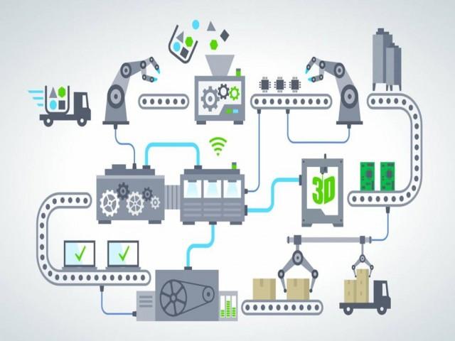 4 Giai đoạn phát triển của nhà máy sản xuất thông minh