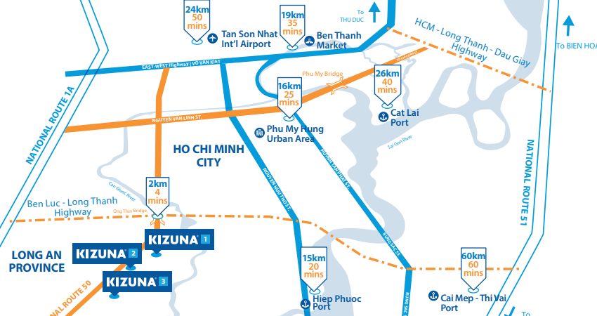 KIZUNA's products & services information