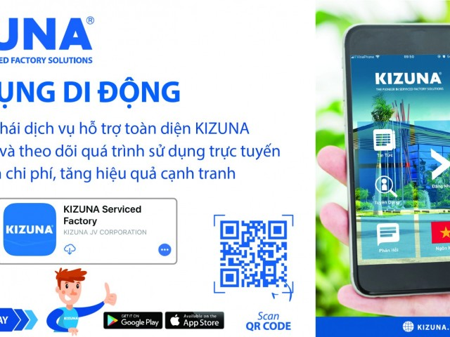 KIZUNAアプリでKIZUNAビジネスコミュニティー向け総合サポートサービスの エコシステムをご体験ください