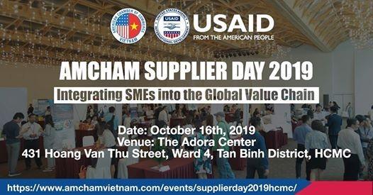 Kết nối giao thương miễn phí tại Ngày hội các nhà cung cấp – Amcham Supplier Day 2019
