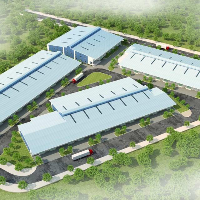 ロンアン省 生産工場Kizunaは迅速かつ効果的に多様な工場を貸す