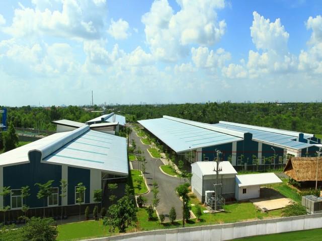 Kizunaは高品質のインフラを備えたベトナム 1000m2 レンタル工場を貸す