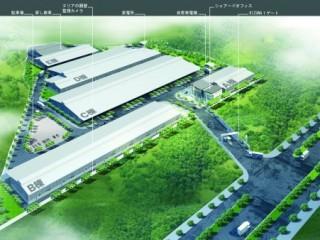 Kizunaで2000平米の評判の良い工場を迅速に借りる