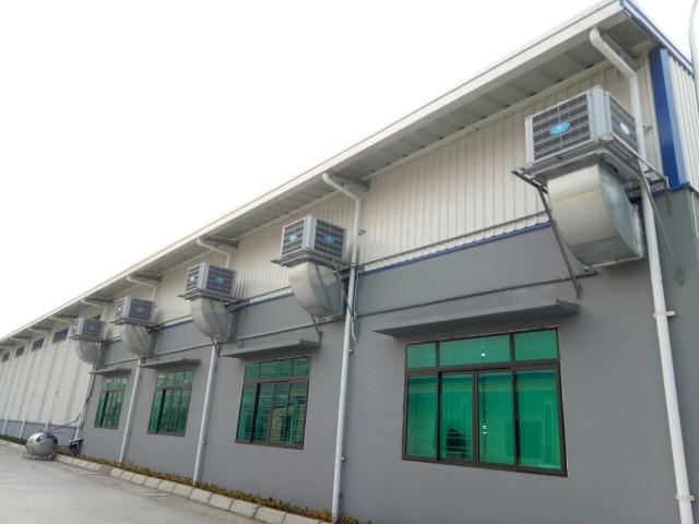 4 xu hướng hệ thống thông gió tự nhiên nhà xưởng năm 2019