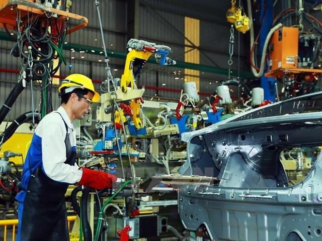 ロンアン省 レンタル工場将来の重要な工業団地内の工房