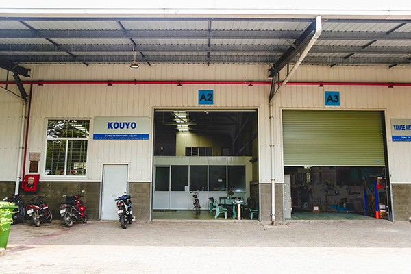 serviced workshop for rent