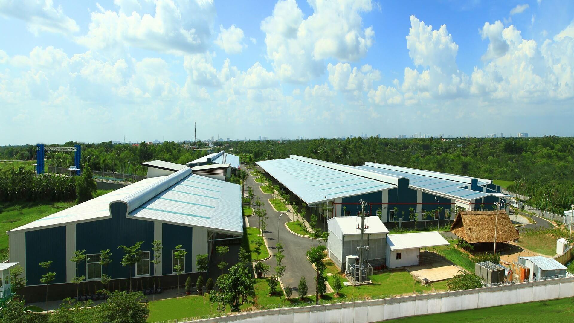 롱안 생산 공장, 베트남 공단 정보