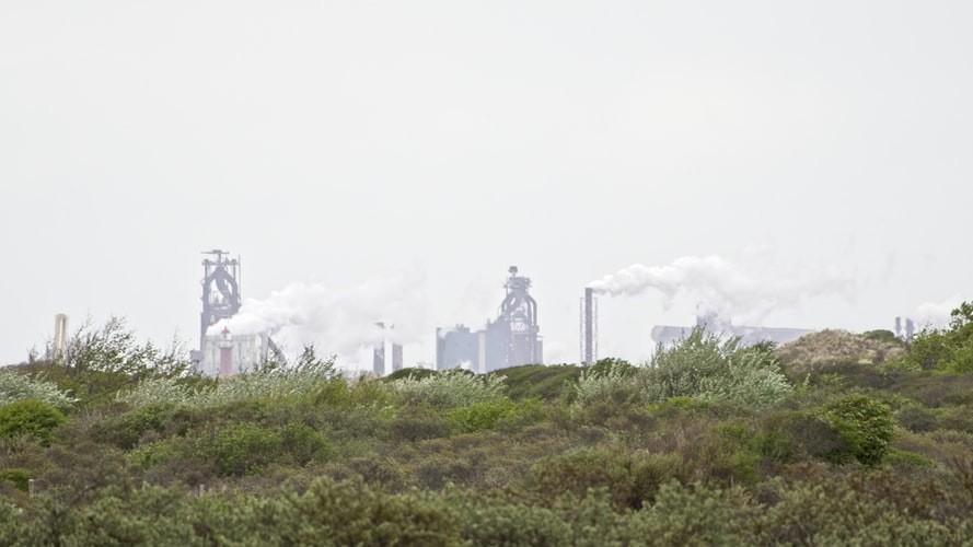 호치민 인근 공업 단지 오염