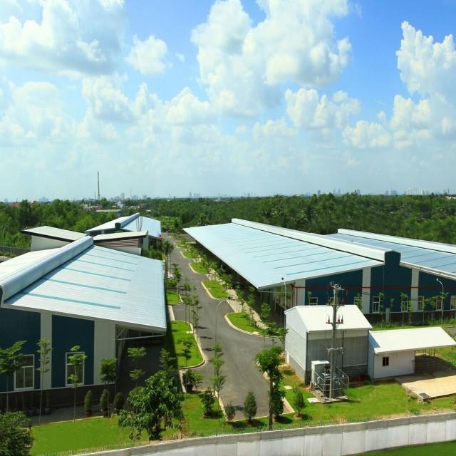 Kizuna의 롱안에 지어진 공장을 임대 으로 생산 향상