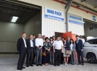 神奈川産業振興センター(KIP)の視察グループがKIZUNAを訪問 (2019.11.20)