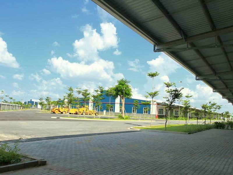 베트남 300m2의 공장