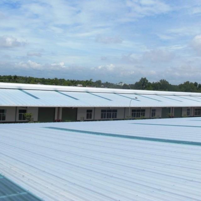 베트남 300m2의 공장 (베트남 300m2의 공장 led 조명) 프로젝트는 Kizuna 산업 단지에서 개발되