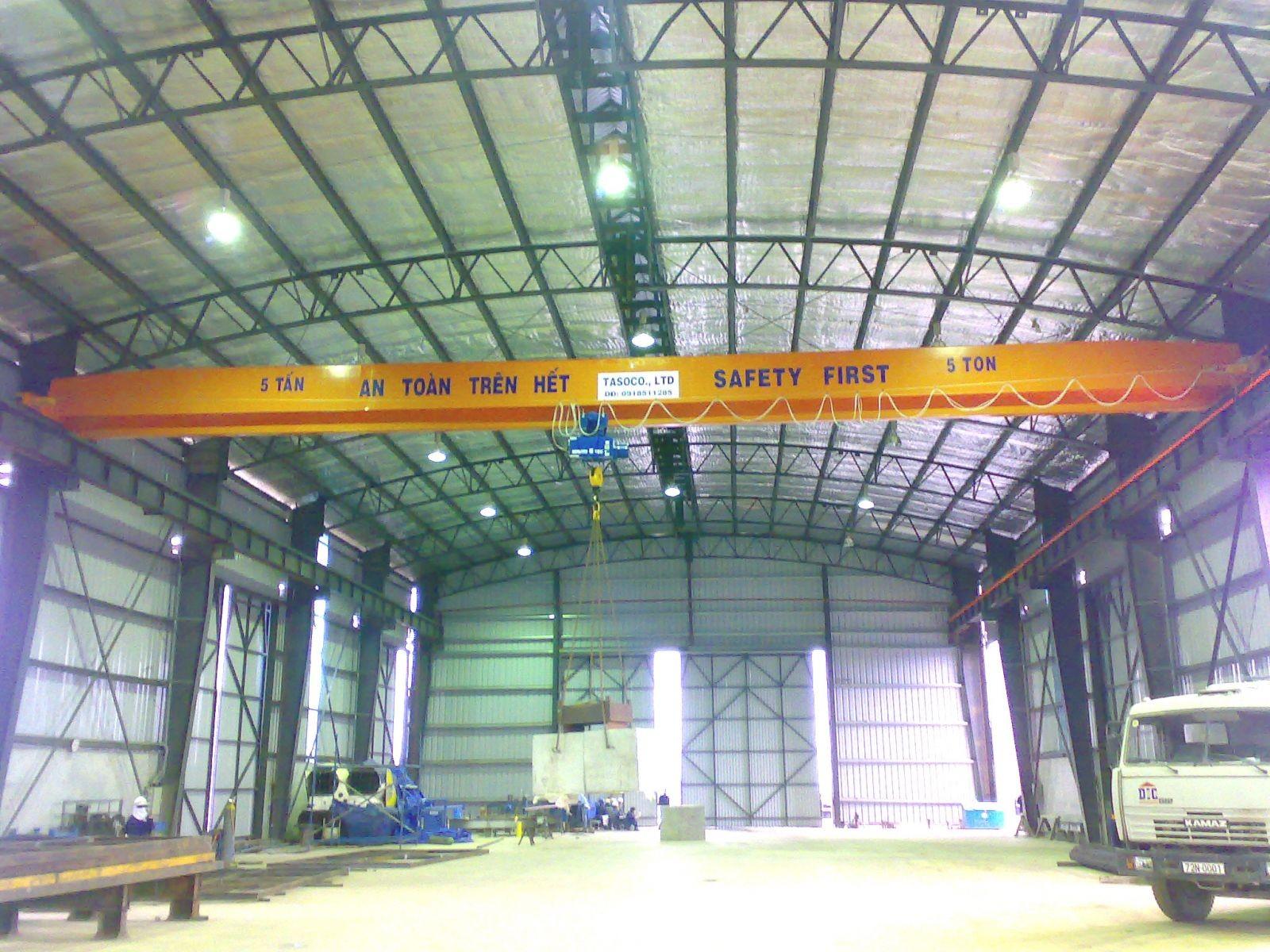 베트남 철강 구조 공장, 베트남 철강 공장