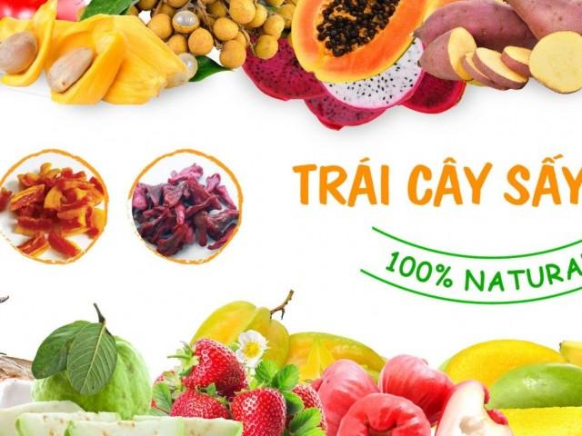 Xưởng sản xuất hoa quả sấy tại Long An: Thị trường tiềm năng cho DN
