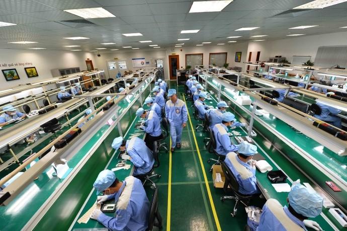 nhà máy sản xuất linh kiện điện tử, sản xuất linh kiện điện tử
