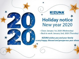 [HOLIDAY NOTICE] NEW YEAR 2020