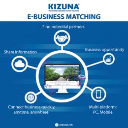 Có phải Cổng kết nối doanh nghiệp trực tuyến E-business matching chỉ dành riêng cho Doanh nghiệp trong khu KIZUNA?