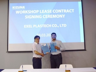 Exel Plastech Co. Ltd. - New manufacturer producing industrial packaging products at KIZUNA Ready Serviced Factory