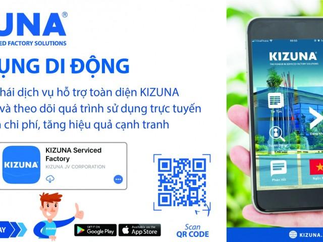 Ứng dụng di động KIZUNA App - Giúp cộng đồng doanh nghiệp KIZUNA đăng ký dịch vụ trực tuyến trong thời dịch Covid-19
