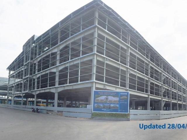 [Cập nhật tiến độ] KIZUNA Ready Serviced Space – Nhà xưởng 4 tầng xây sẵn hoàn thiện 55%
