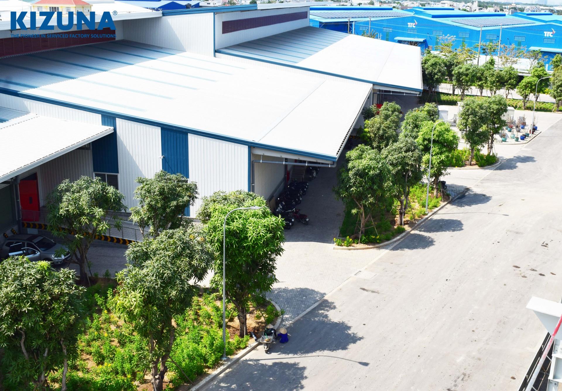 호치민 인근 서비스 공장 임대 kizuna