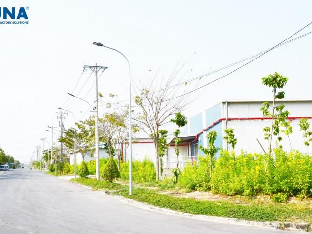 많은 이점과 인프라가 있는 Kizuna 의 베트남 공장 임대 지역