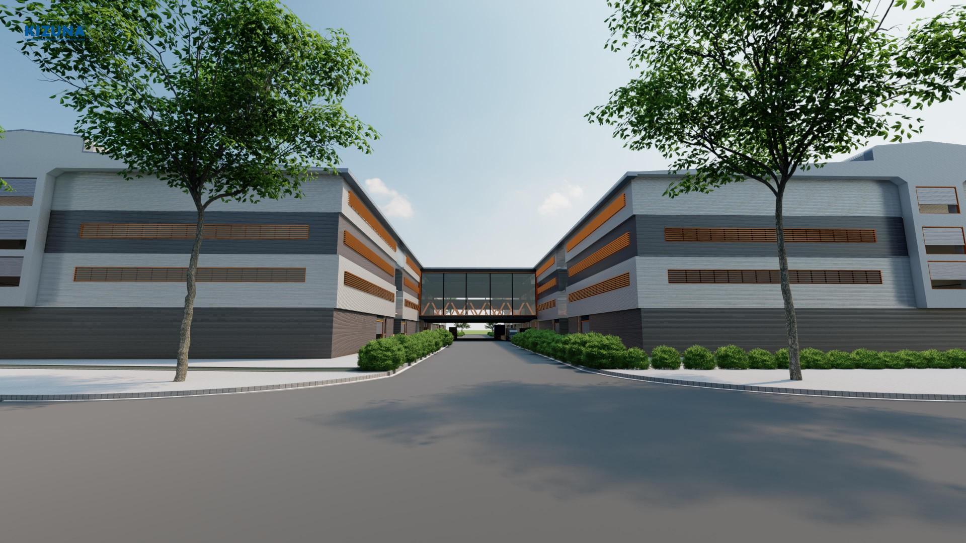 Factory space for rent kizuna