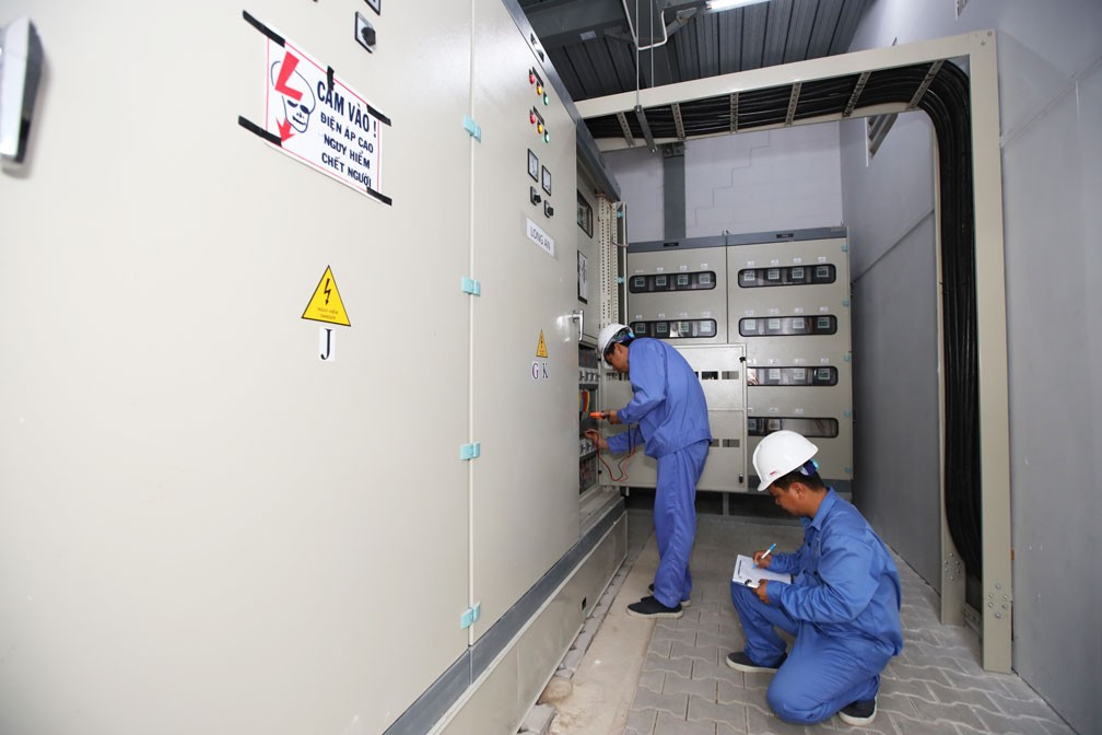Nhà xưởng có nguồn điện ổn định