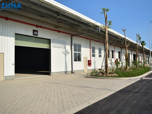 Giá cho thuê xưởng 2020 tại Kizuna, Long An gần TPHCM chỉ 5,1$/tháng